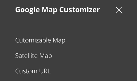 How to customize Google Map and export high-quality images ... Map Customizer on