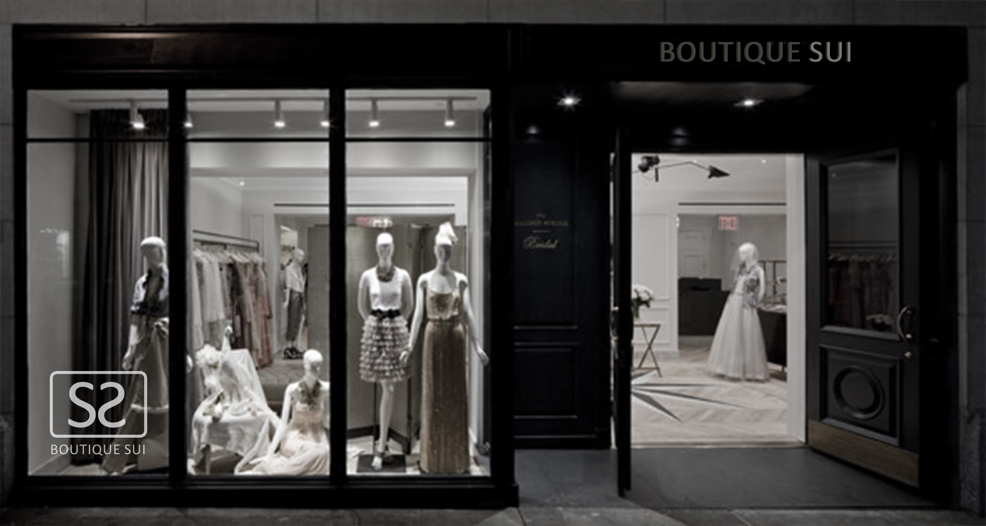 Boutique Sui logo on storefront